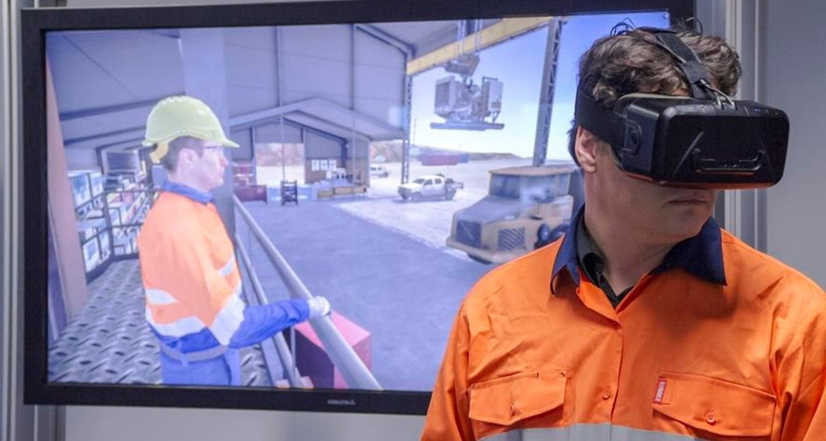 Immersive-VR-training