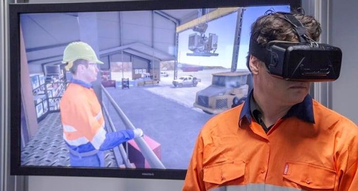 Immersive-VR-trainingf